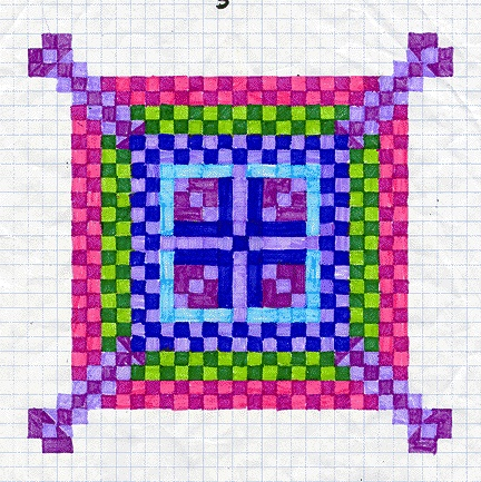 92 best art integration - math images on Pinterest Bricolage - numbered graph paper template