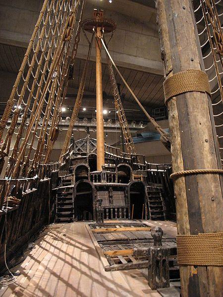 Vasa, eller Wasa, är ett svenskt örlogsfartyg som kantrade och sjönk utanför Beckholmen i Stockholms inlopp på sin jungfruresa, söndagen den 10 augusti 1628. Bärgades 1961.