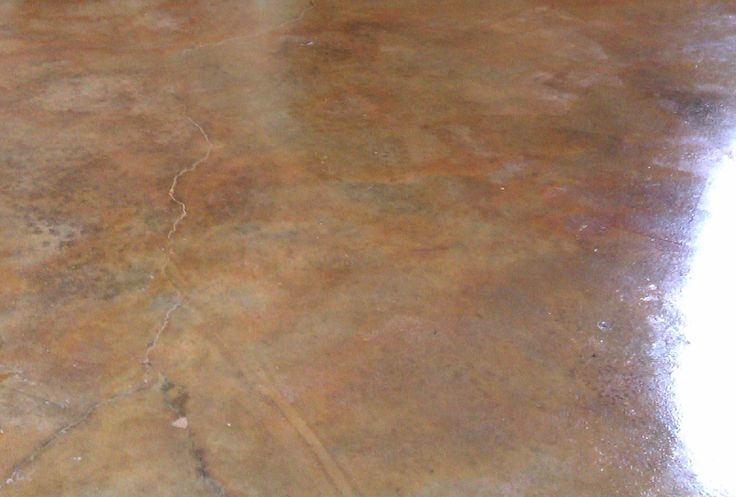 How To Acid Stain Concrete Floors Projects For A Rainy