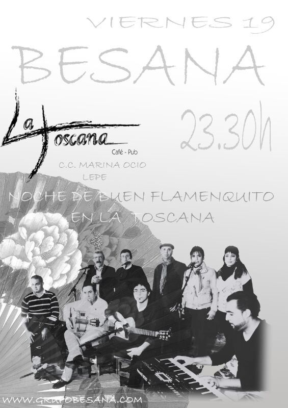 Hoy podremos disfrutar de lo mejor de Besana ¡¡No faltes!!