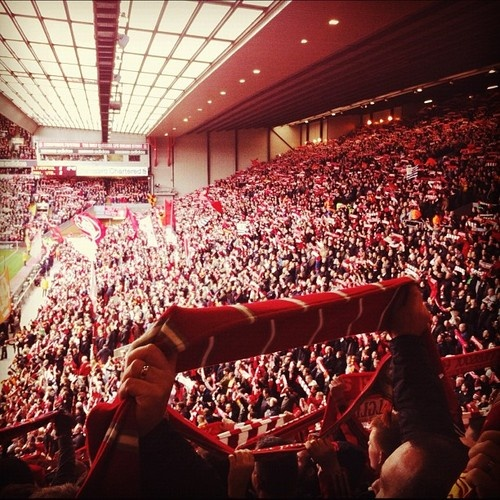 Liverpool FC fans.