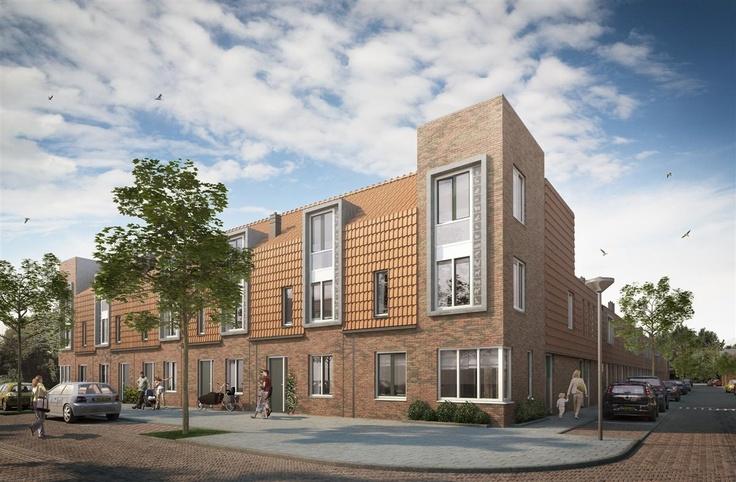 Nieuwbouwproject Jan Bouwmeesterstraat - dicht bij het centrum van Zaandam en dus dichtbij Amsterdam. Je vindt het project op de Zaanse Nieuwbouwdagen 11 en 13 april 2013.
