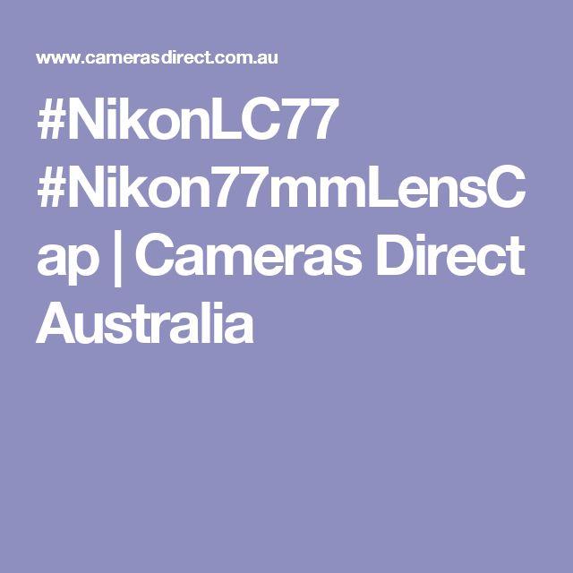 #NikonLC77 #Nikon77mmLensCap | Cameras Direct Australia