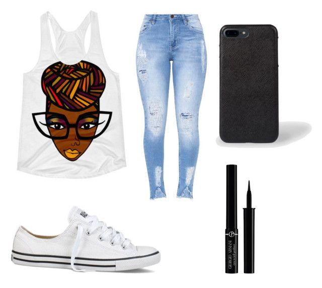 Teen Swag (Volume 1) by piercerenijha on Polyvore featuring polyvore Converse Giorgio Armani fashion style clothing