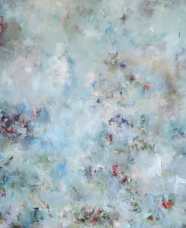 """Saatchi Art Artist ADRIENNE SILVA; Painting, """"I've Looked at Clouds from Both Sides Now"""" #art"""