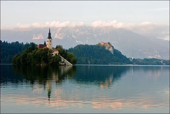 Bled Lake is one of the most tranquil places I've ever been to...