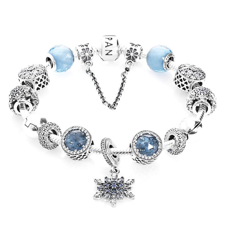 Pandora Advertised Crystallised Flurry Complete Bracelet