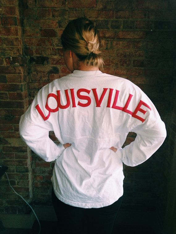 University of Louisville Spirit Jersey by KentuckyKay on Etsy, $40.00