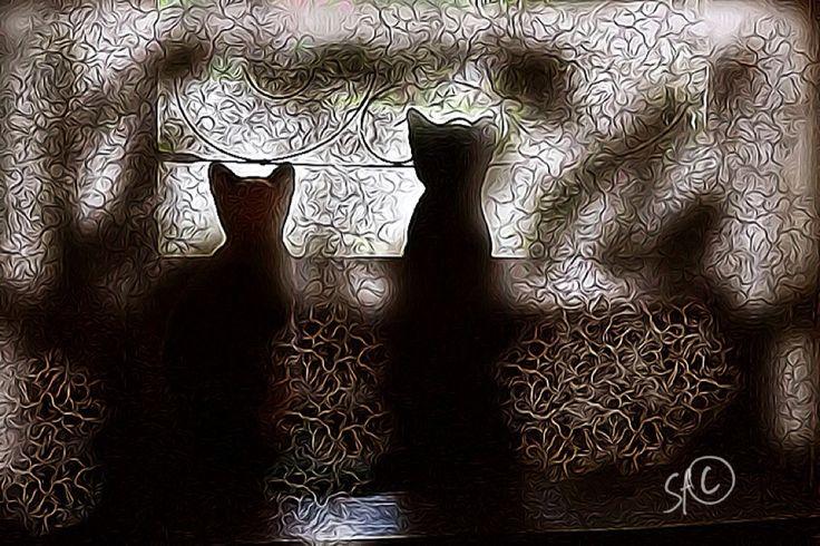 """2 witnesses"" digital art by Shelli Fitzpatrick"