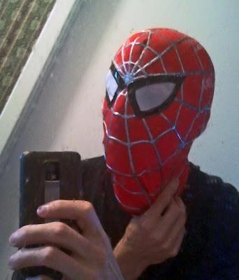 DIY Halloween : DIY Spiderman replica costume - The mask