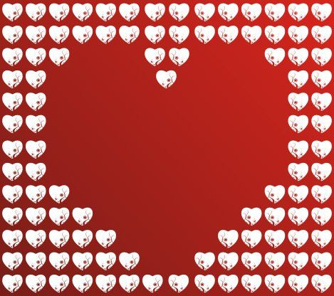 Shiny hearts and Valentine's day background vector with white hearts make a fun vector backdrops for any of your designs. Description from allvectordesign.com. I searched for this on bing.com/images