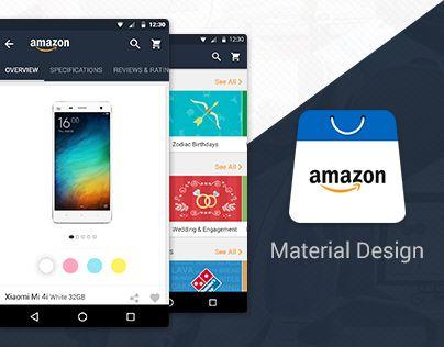 다음 @Behance 프로젝트 확인: \u201cAmazon Material Design Concept\u201d https://www.behance.net/gallery/32742373/Amazon-Material-Design-Concept