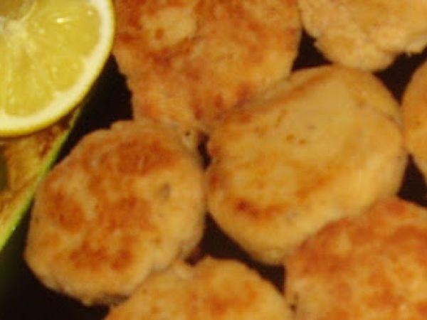 Crocchette di salmone e persico