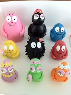 The Barbapapas for a cake