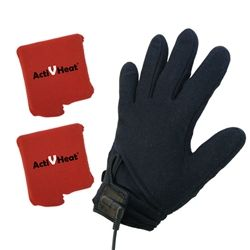 Freedom Weightless RECHARGEABLE Battery Heated Glove Liners - All Day MAX HEAT Package