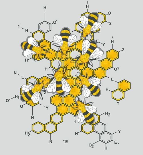 Bees on molecular honey
