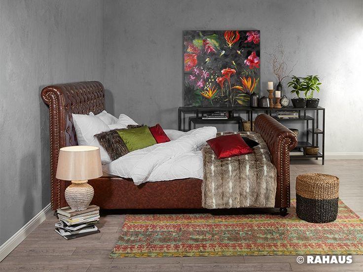 DSCHUNGELBUCH #Bett #Schlaf #schlafen #RAHAUS #Interior #sleepingroom #Schlafzimmer #Kommode #Metall #Bild #Picture #einrichten #Berlin