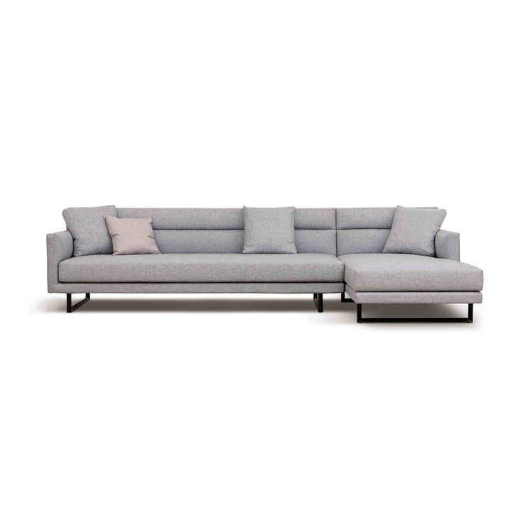 The Amor sofa offers structured, yet comfortable seating. Available in an array of configurations, fabrics...