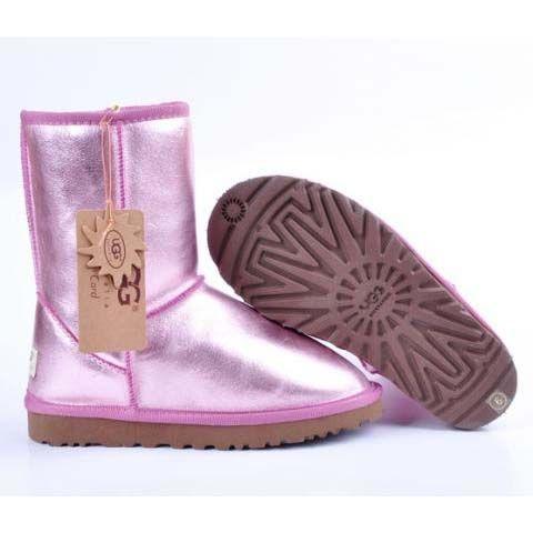 pink metallic ugg boots