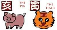 Pig and Tiger horoscope