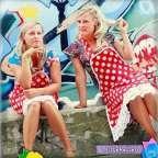 Ken je De Tuttebellen al? De tweelingzussen Marie-Claire en Marie-Therese hebben een passie voor het omtoveren van meiden tot wandelende lentetuintjes!
