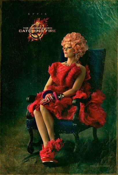 #HungerGames #LaRagazzaDiFuoco #CatchingFire The Effie Trinket Capitol Portrait