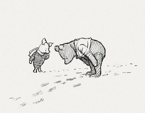Awww... Winnie the Pooh bear!