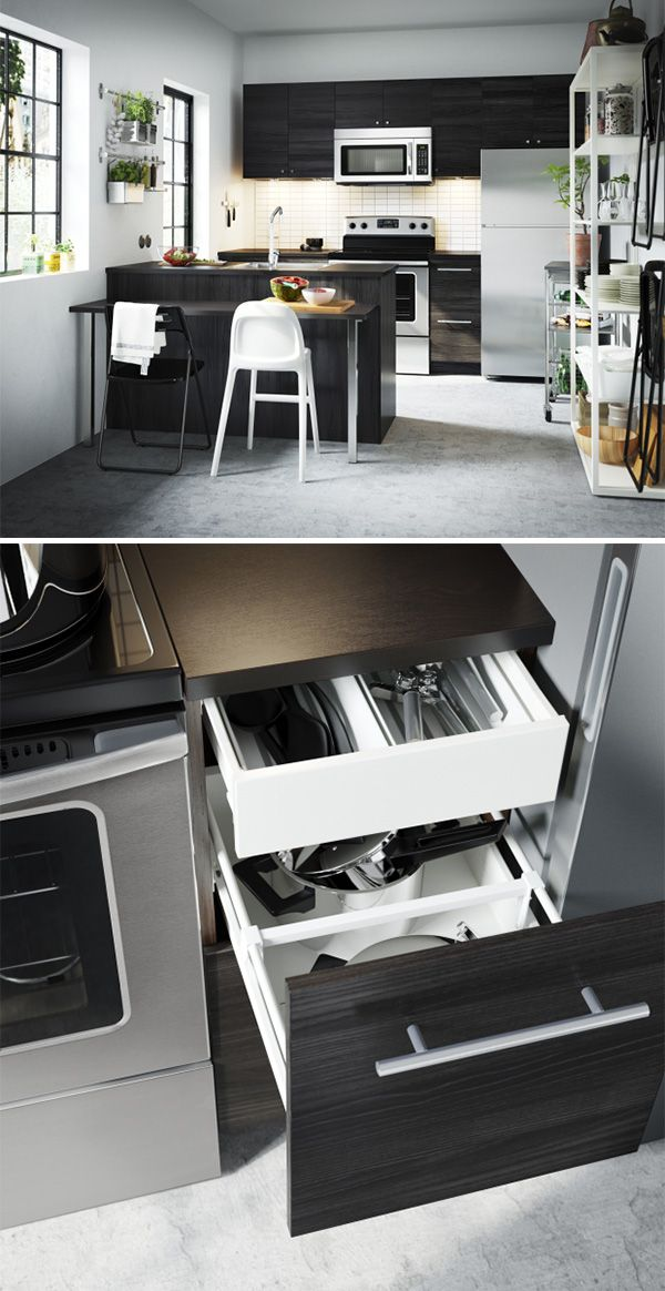 Best A Drawer Within A Drawer With Ikea Sektion Kitchens One 640 x 480