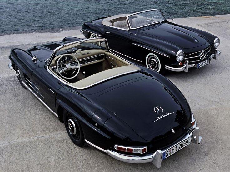 #perfect #convertible -  Mercedes 190 + 300 SL