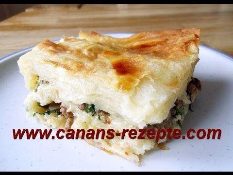 Börek mit Hack (türkisch) , Kıymalı Börek nasıl yapılır? CANAN´S REZEPTE