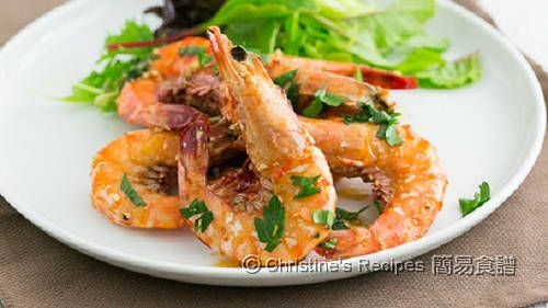 Garlic Butter Tiger Prawns02