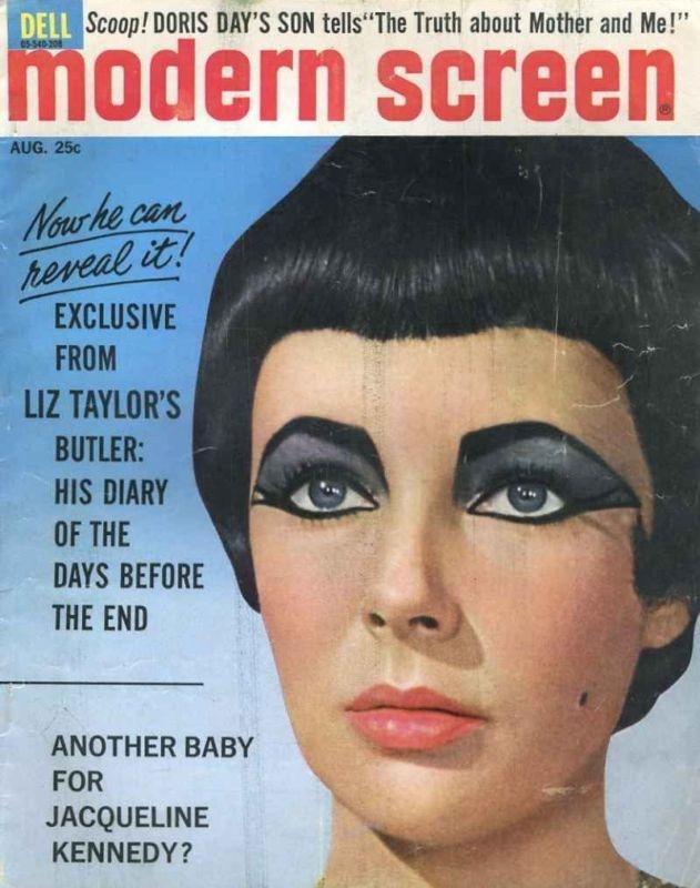 Elizabeth Taylor, Egyptian Eye make UP