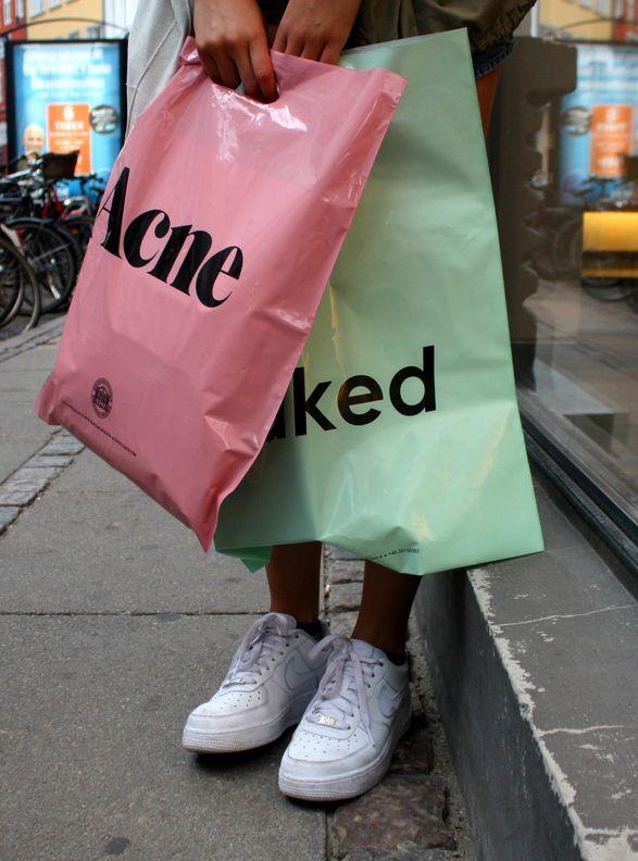 Acne bag.