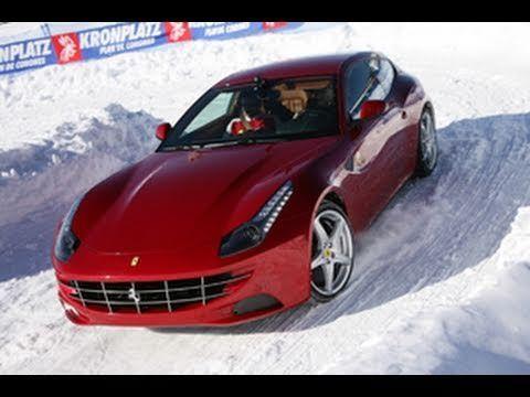Ferrari FF in prova a Bruneck, Brunico al Plan de Corones