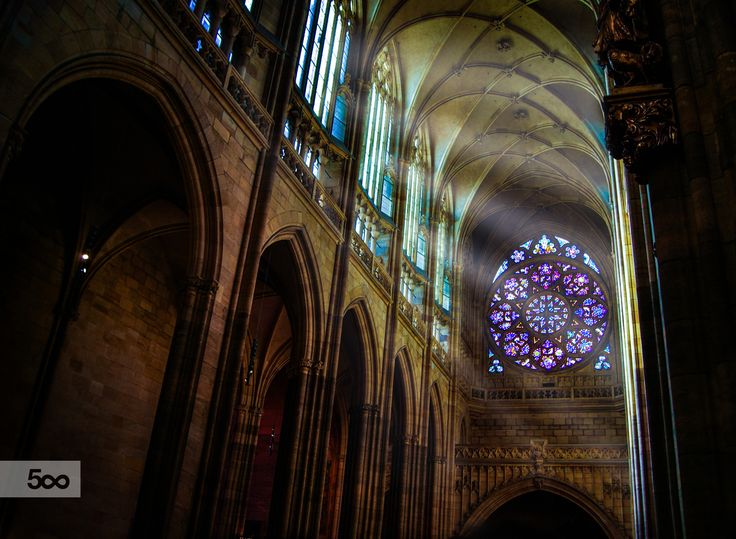 St. Vitus Cathedral, Prague. by Beatrice  on 500px