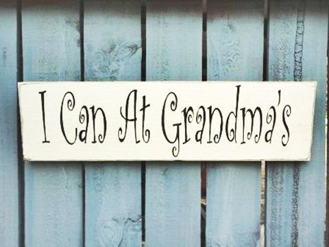 Grandma sign Mothers day gift Grandma Gift I can at by kpdreams, $12.00