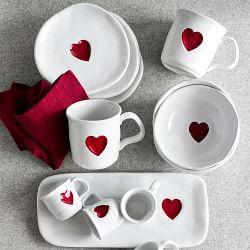 Valentine Glasses & Valentine Glassware | Williams-Sonoma