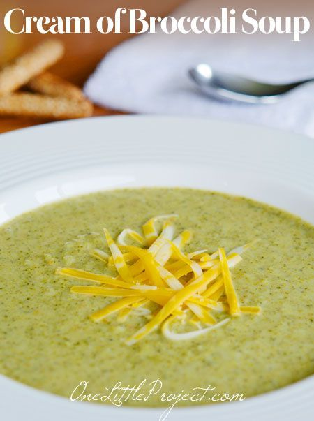 Cream of broccoli soup  Ingredients      4 tablespoons butter     3 broccoli crowns     1 onion, chopped     1 carrot, chopped     1 stalk of celery, chopped     3 tablespoons flour     4 cups chicken broth     2 cups milk     Salt and freshly ground black pepper