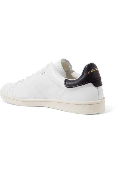 Isabel Marant - étoile Bart Leather Sneakers - White - FR41