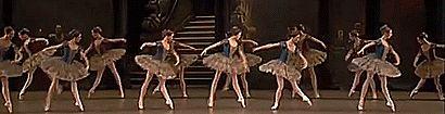 // Agnès Letestu and dancers of the Paris Opera Ballet