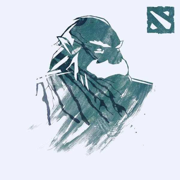 DOTA 2 - Illustration: Zeus