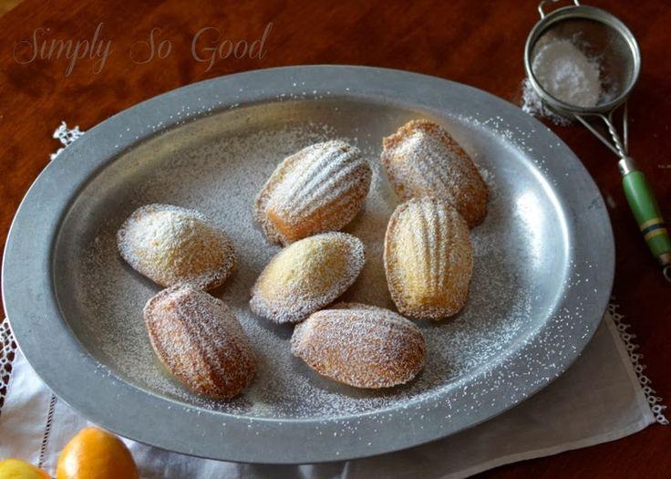 Simply So Good: Meyer Lemon Madeleines | Cookies, shaped | Pinterest