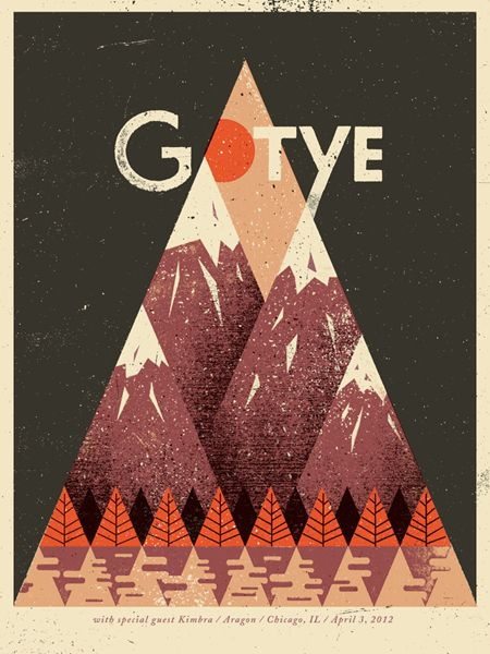 gotye: Graphic Design, Poster Design, Gotye Poster, Illustration, Music Poster, Gig Poster, Posters