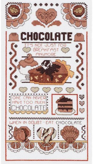 Chocolate Sampler - Cross Stitch Kit