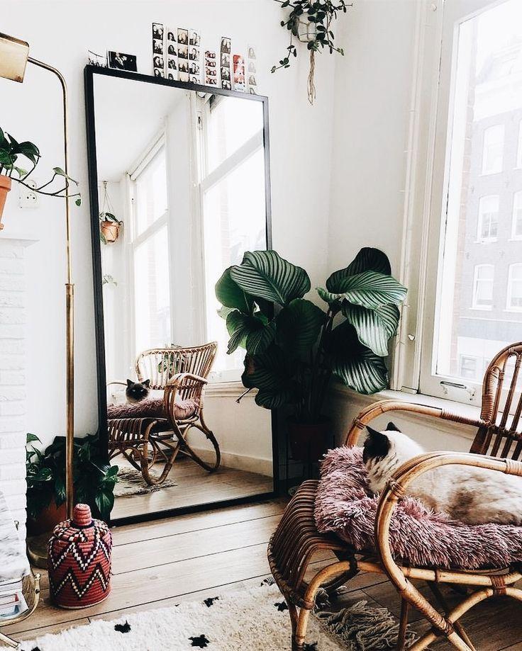 solche Bambusstühle, sehr schön … auch kühl pflanzen – Dekoration