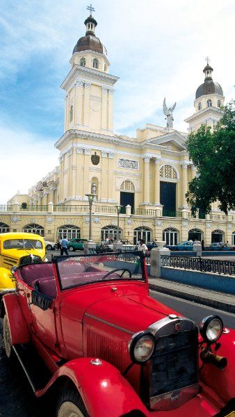Cathedral of Santiago de Cuba, Cuba is found in the heart of this historic city.
