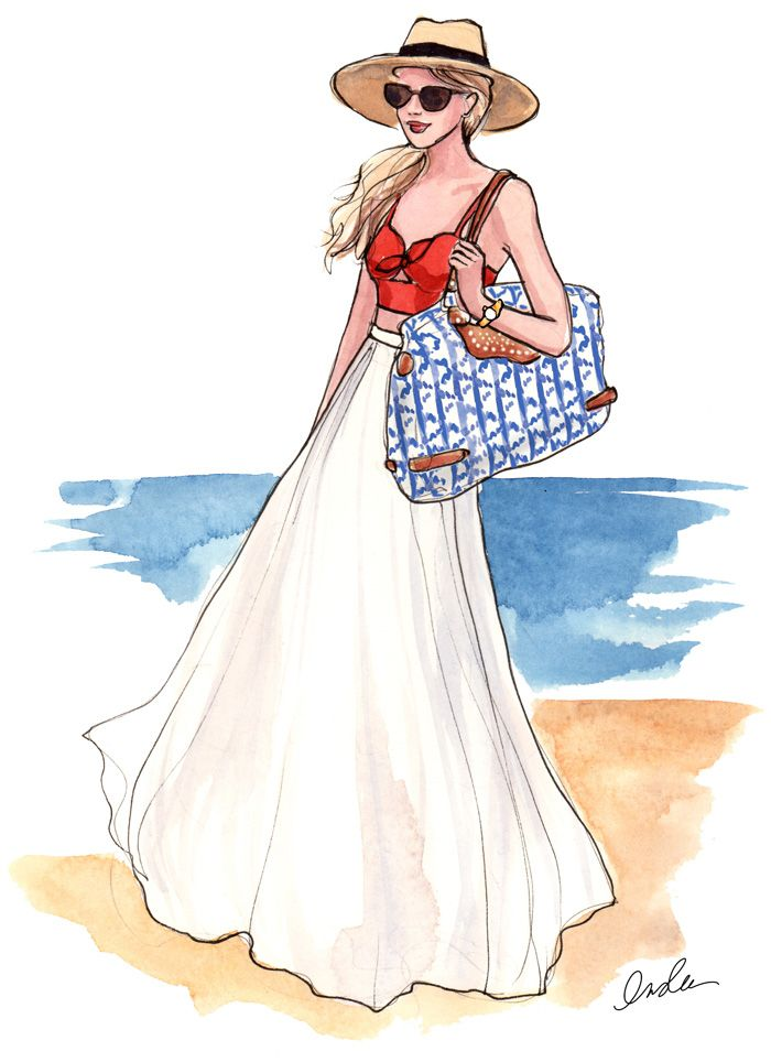 Inslee By Design Rebecca Minkoff Fashion Illustration @Layla Grayce