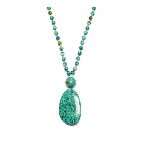 Lola Rose Ester Emerald Green Magnesite Necklace
