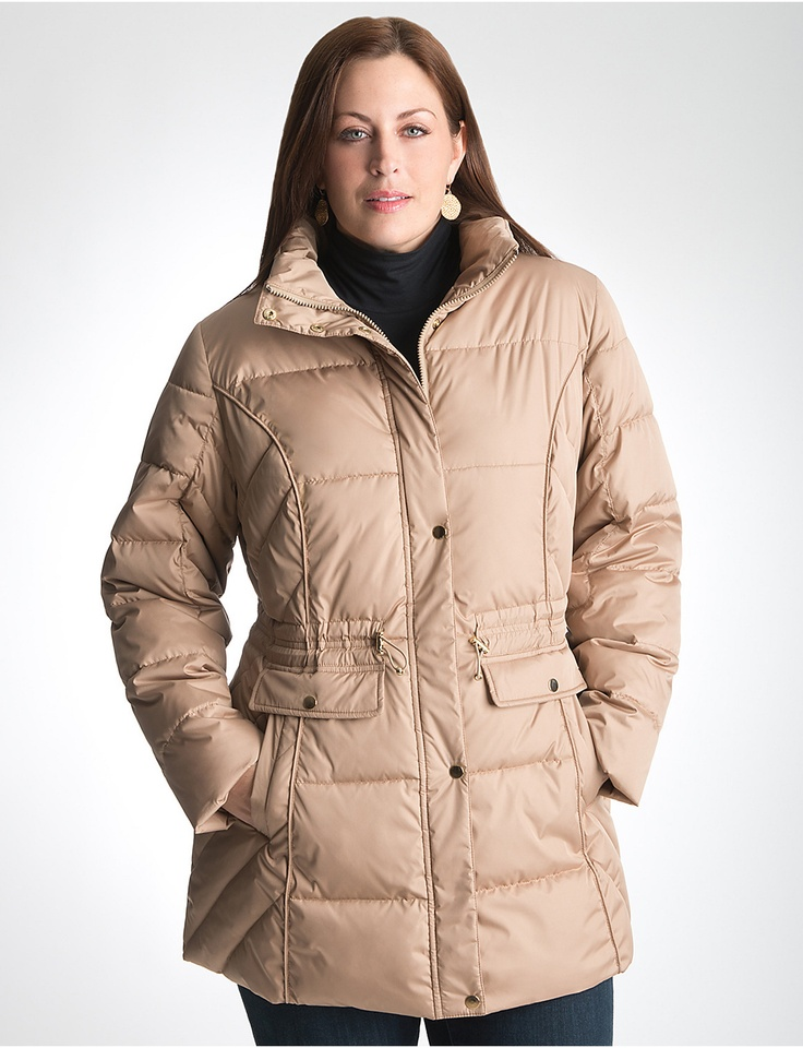 Plus Size Puffer Coat