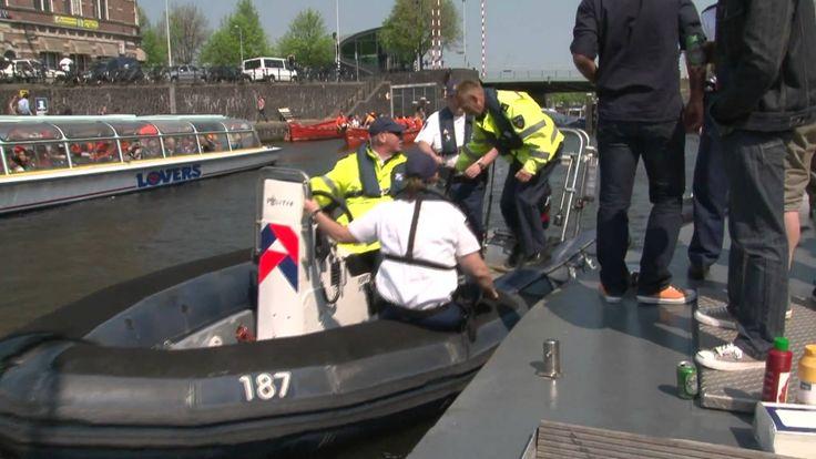 Danceradio.nl qday politie inval op de boot